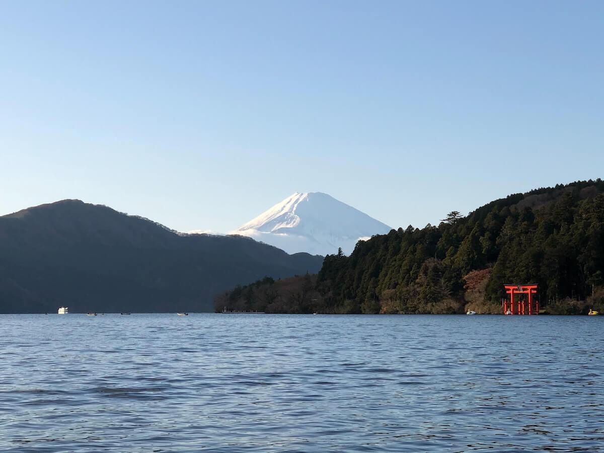 Hakone scenery Japan.