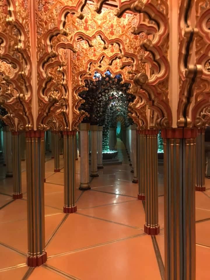 Hall of Mirrors Glacier Garden Lucerne Switzerland.