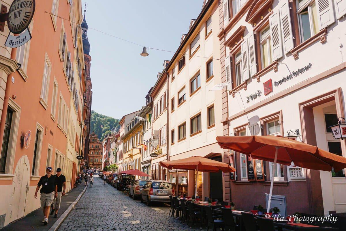 Heidelberg Altstadt Germany.