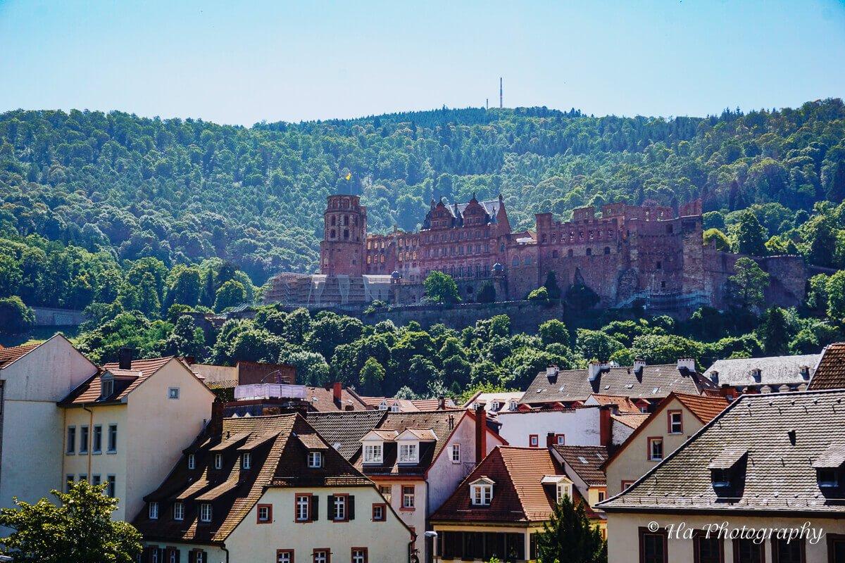 Heidelberg Castle view Germany.