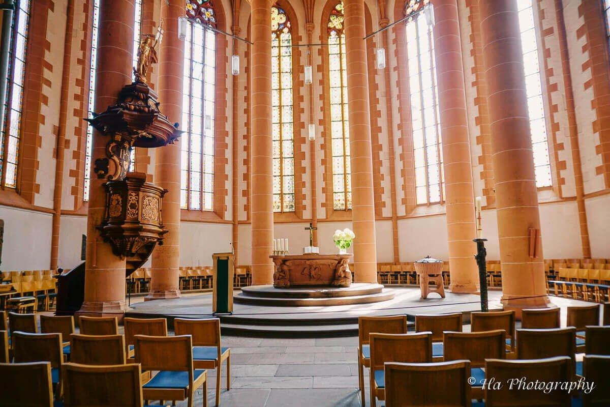 Heidelberg Church of the Holy Spirit Germany.