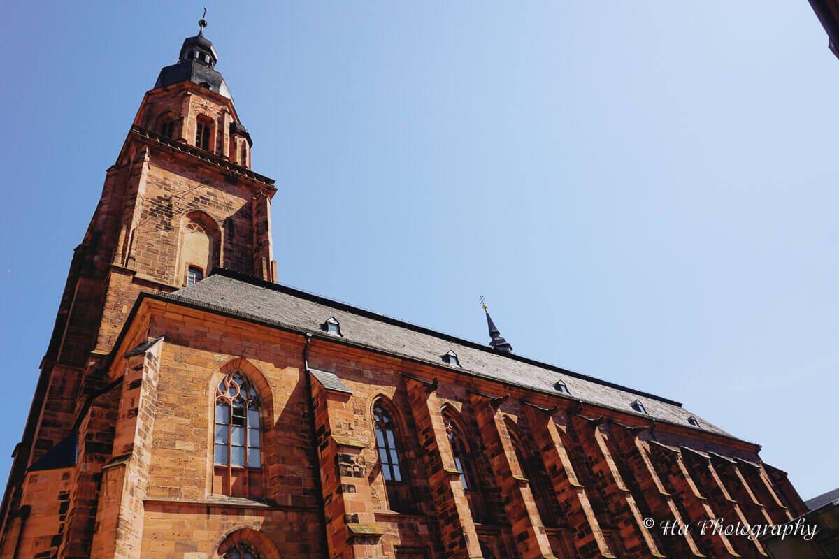 Heidelberg Heiliggeistkirche church Germany.