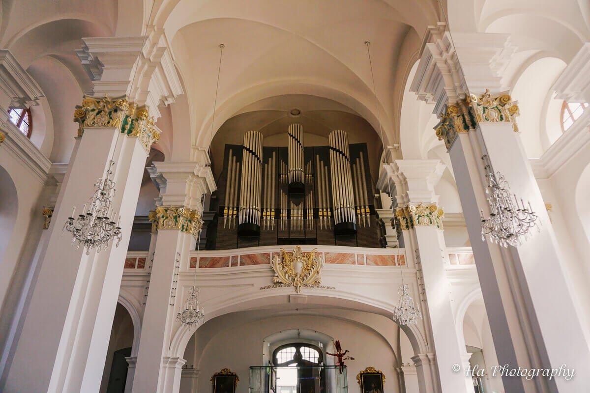 Heidelberg Jesuitenkirche pipe organ Germany.