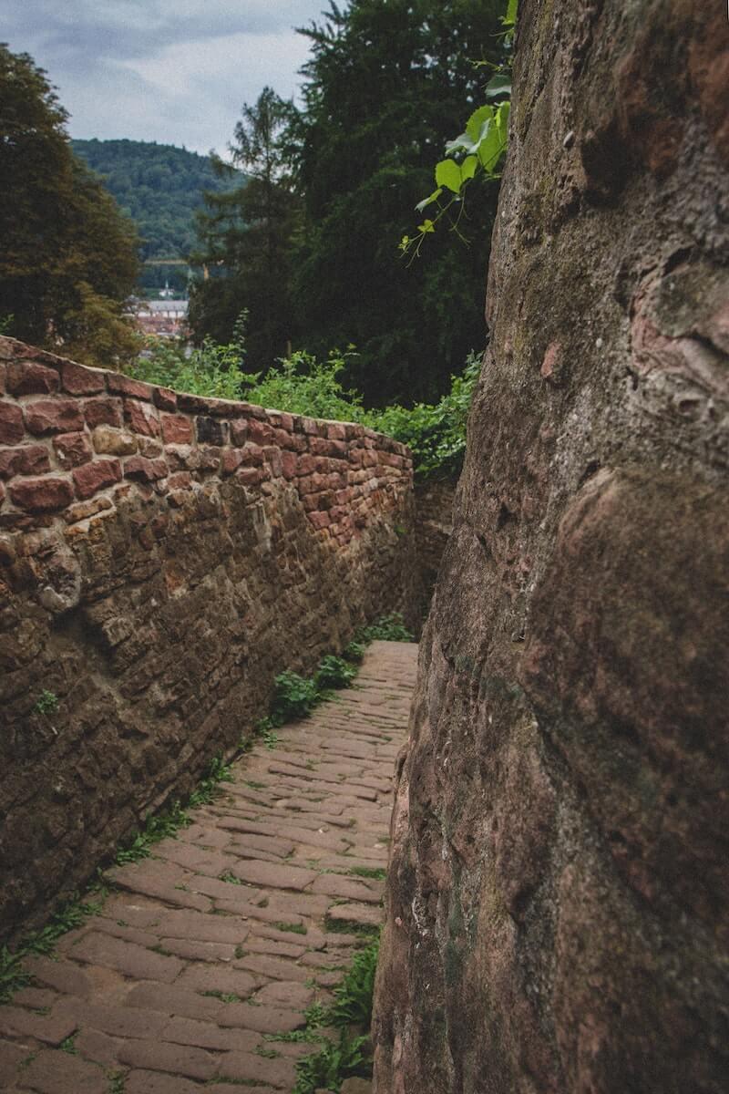 Heidelberg Philosopher path Germany.