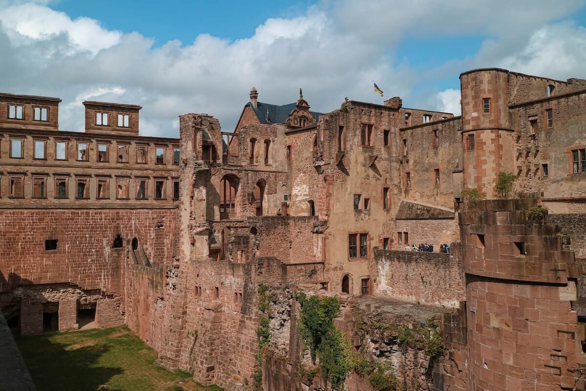 Heidelberg castle Germany.