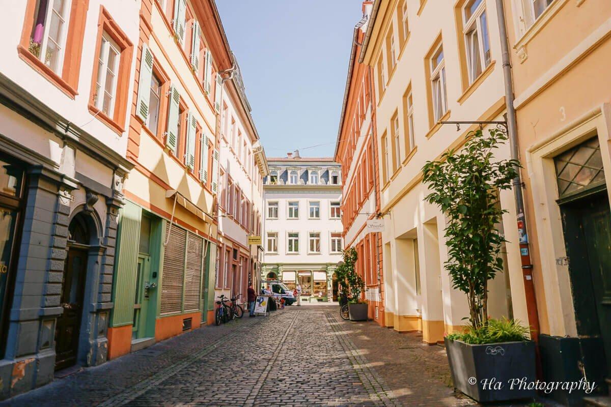 Heidelberg old town Germany.