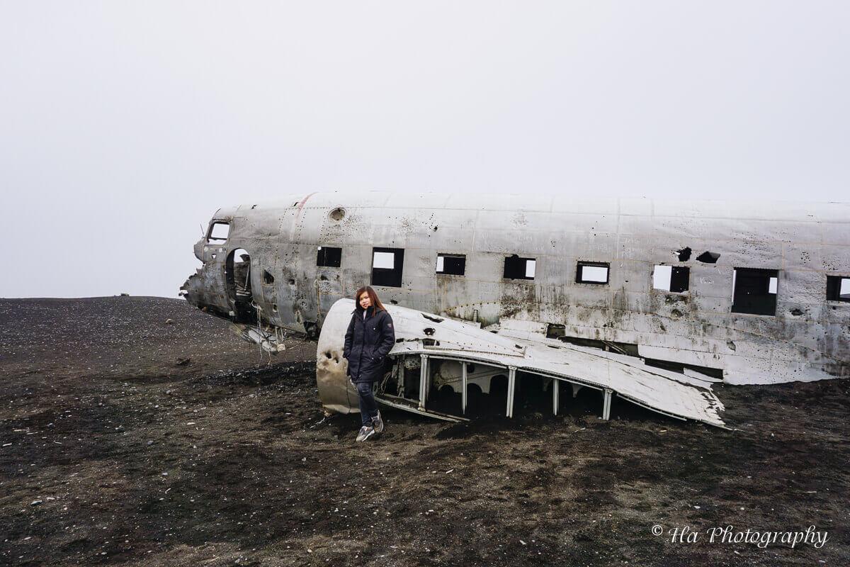 Iceland plane wreck travel.