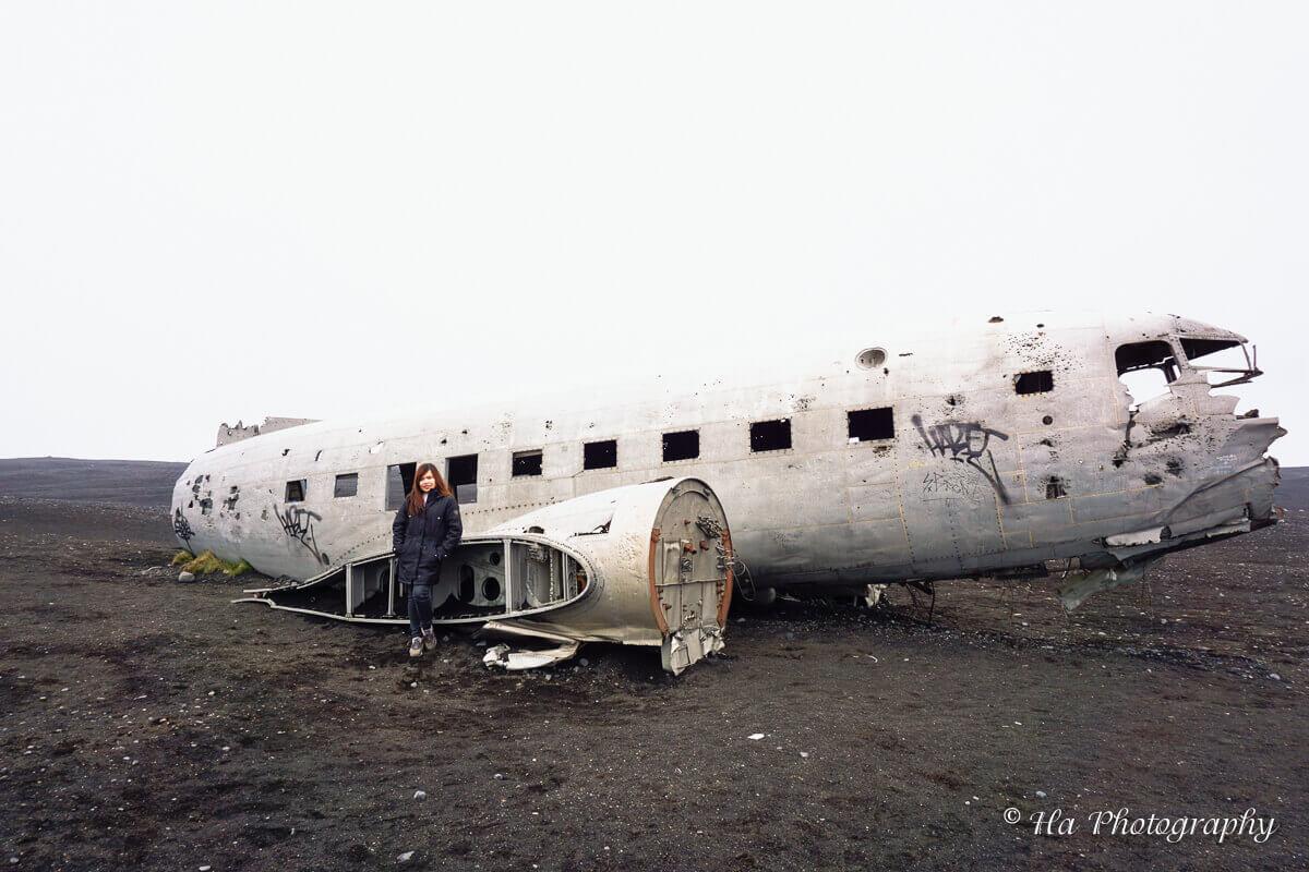 Iceland plane wreck travel tips.