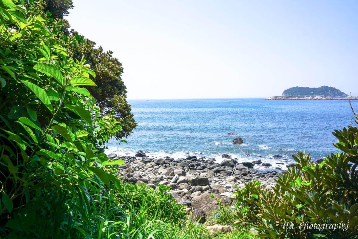 beach Jeju island South Korea.