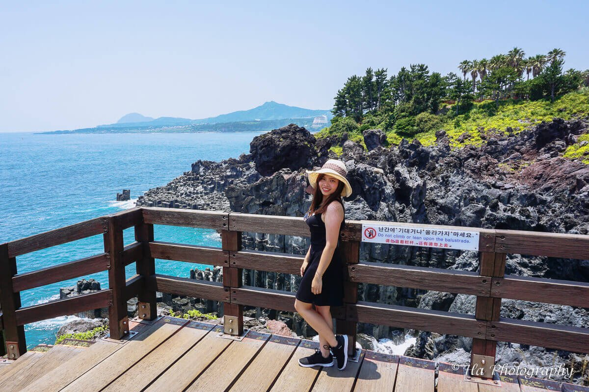 Jusangjeolli Cliff trip Jeju Korea.