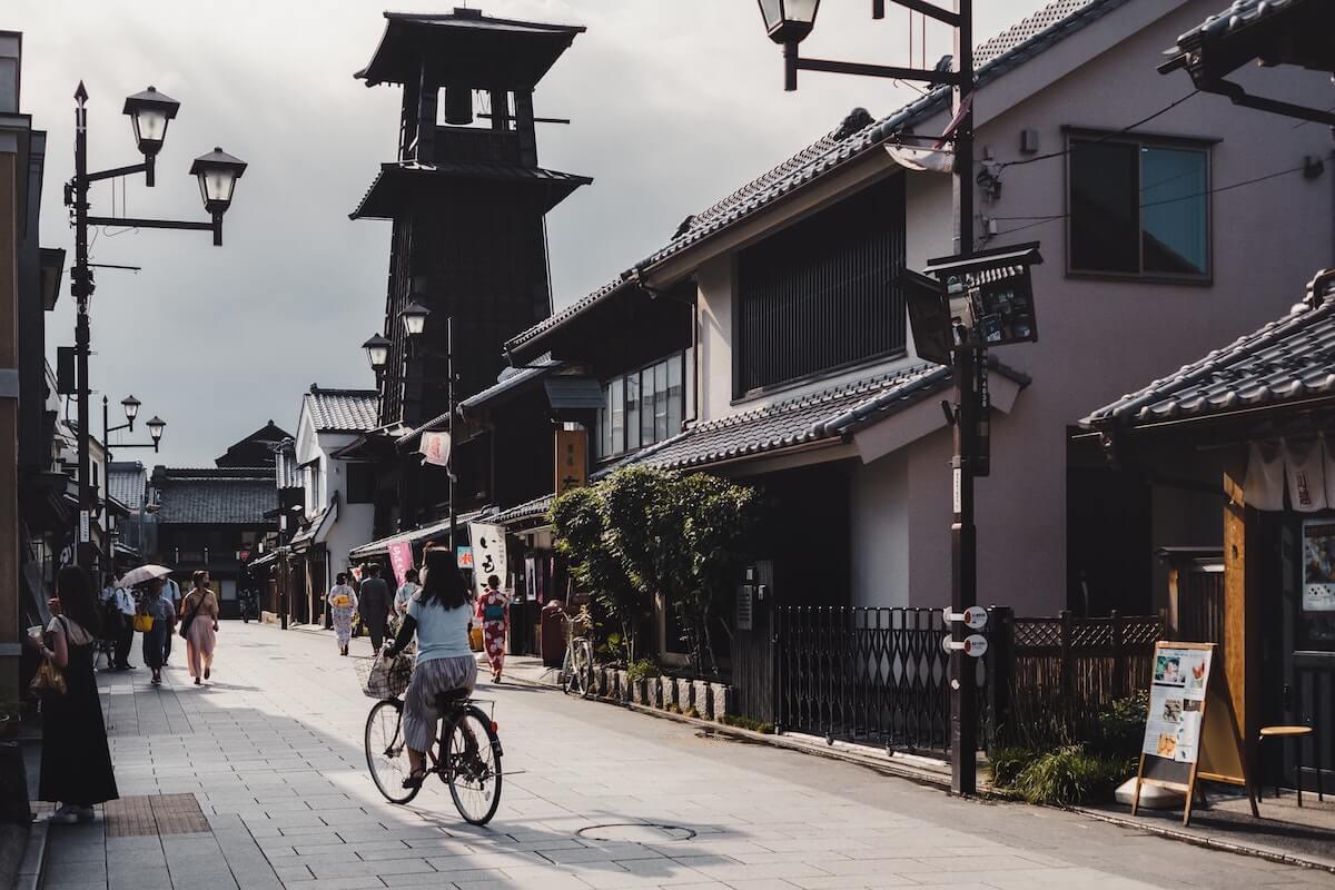 Kawagoe day trips from Tokyo Japan.