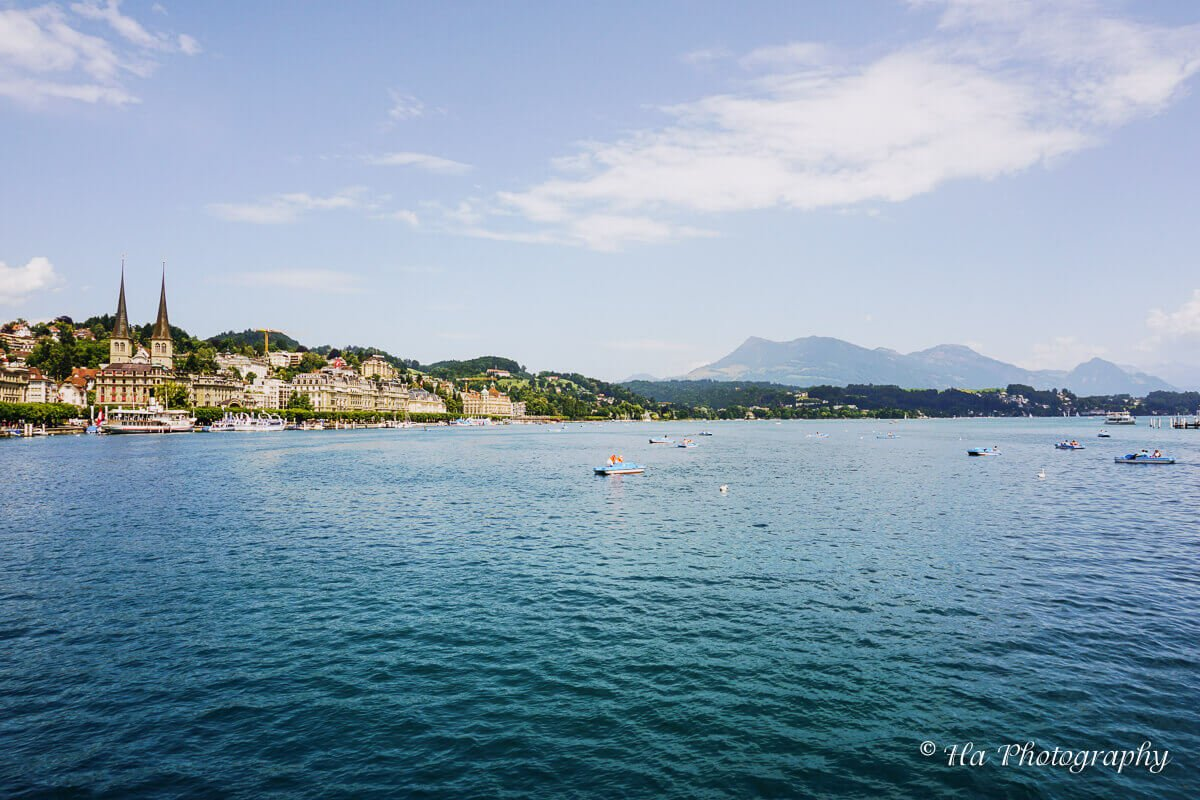 Lake Lucerne Switzerland.