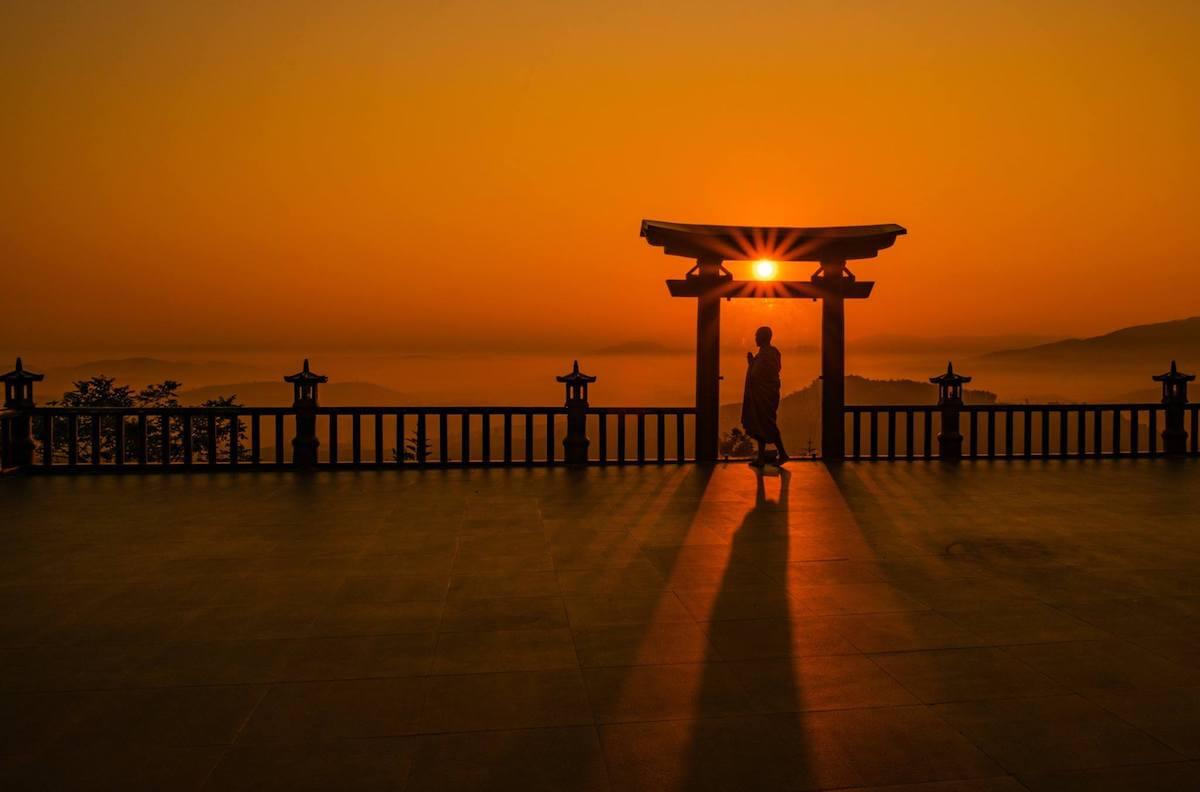 Linh Quy Phap An Pagoda Vietnam.