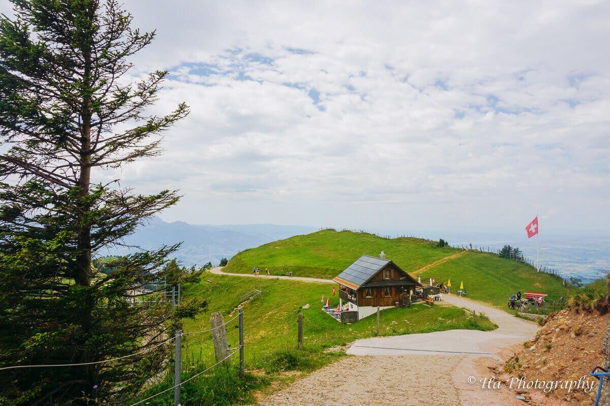 Mount Rigi base Switzerland.