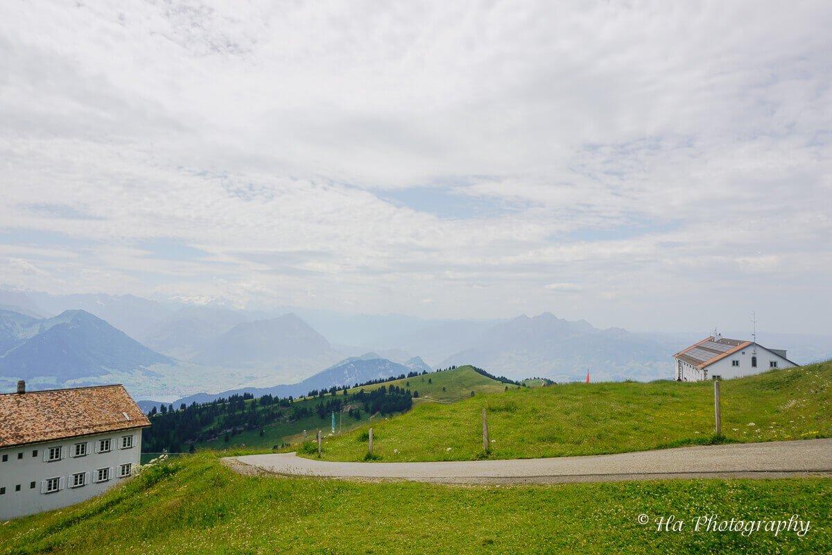 hiking trail Switzerland.