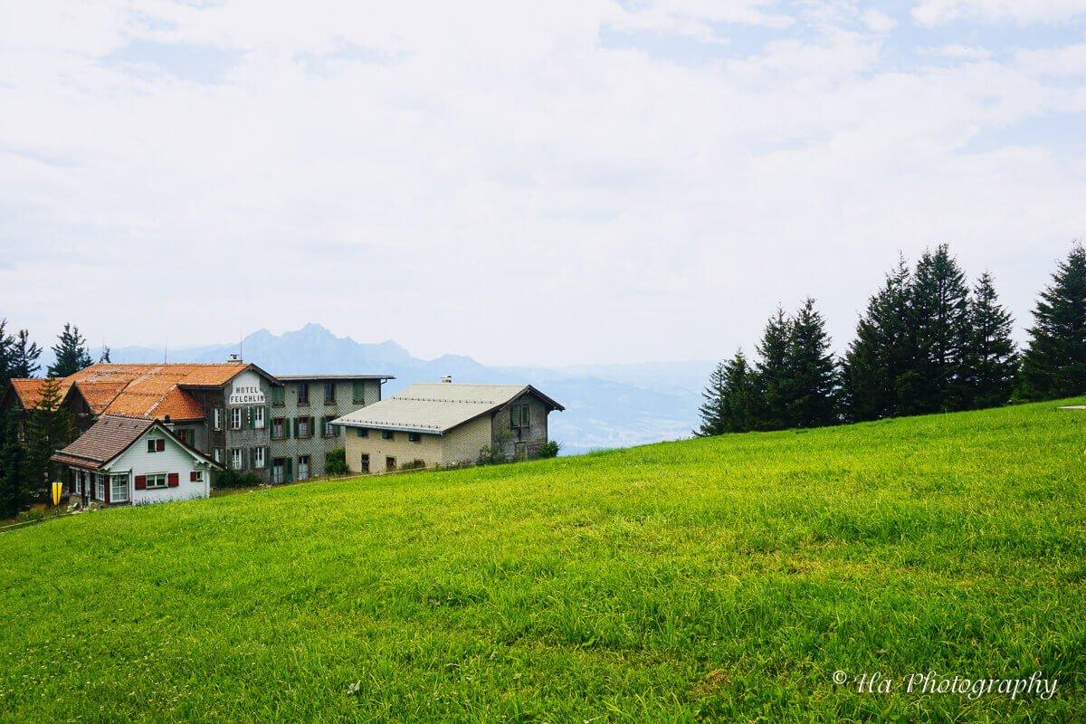 Mount Rigi hotel Switzerland.