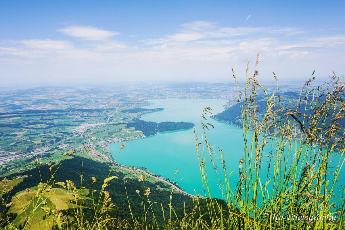 Mt Rigi lake view Switzerland.