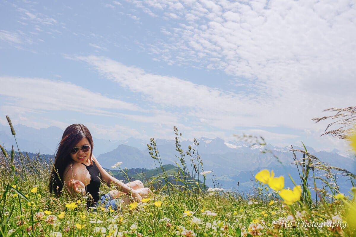 Mount Rigi trip Switzerland.