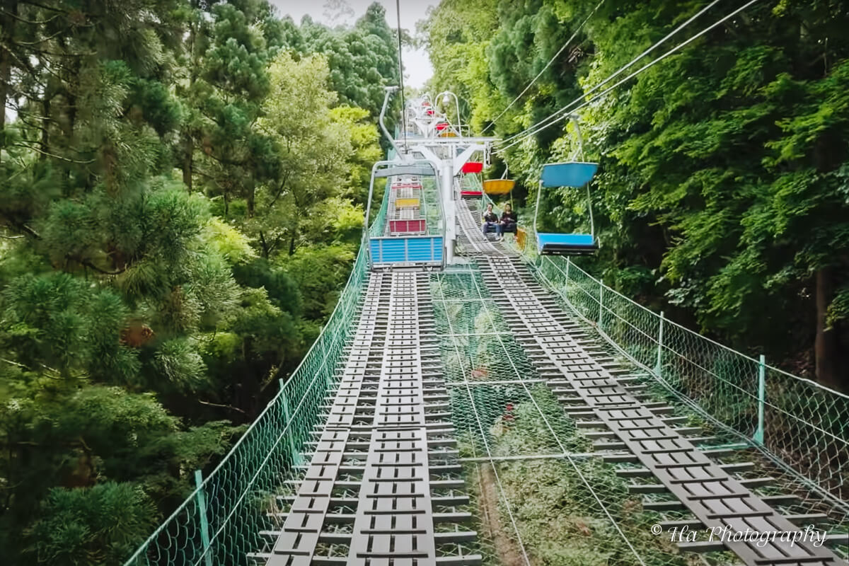 Mount Takao chair lift Japan