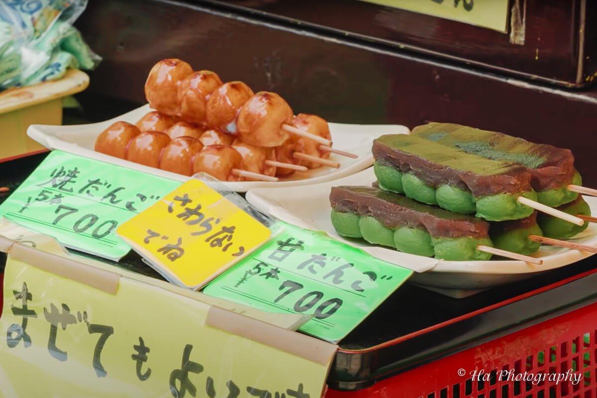 Mount Takao sweets Japan.