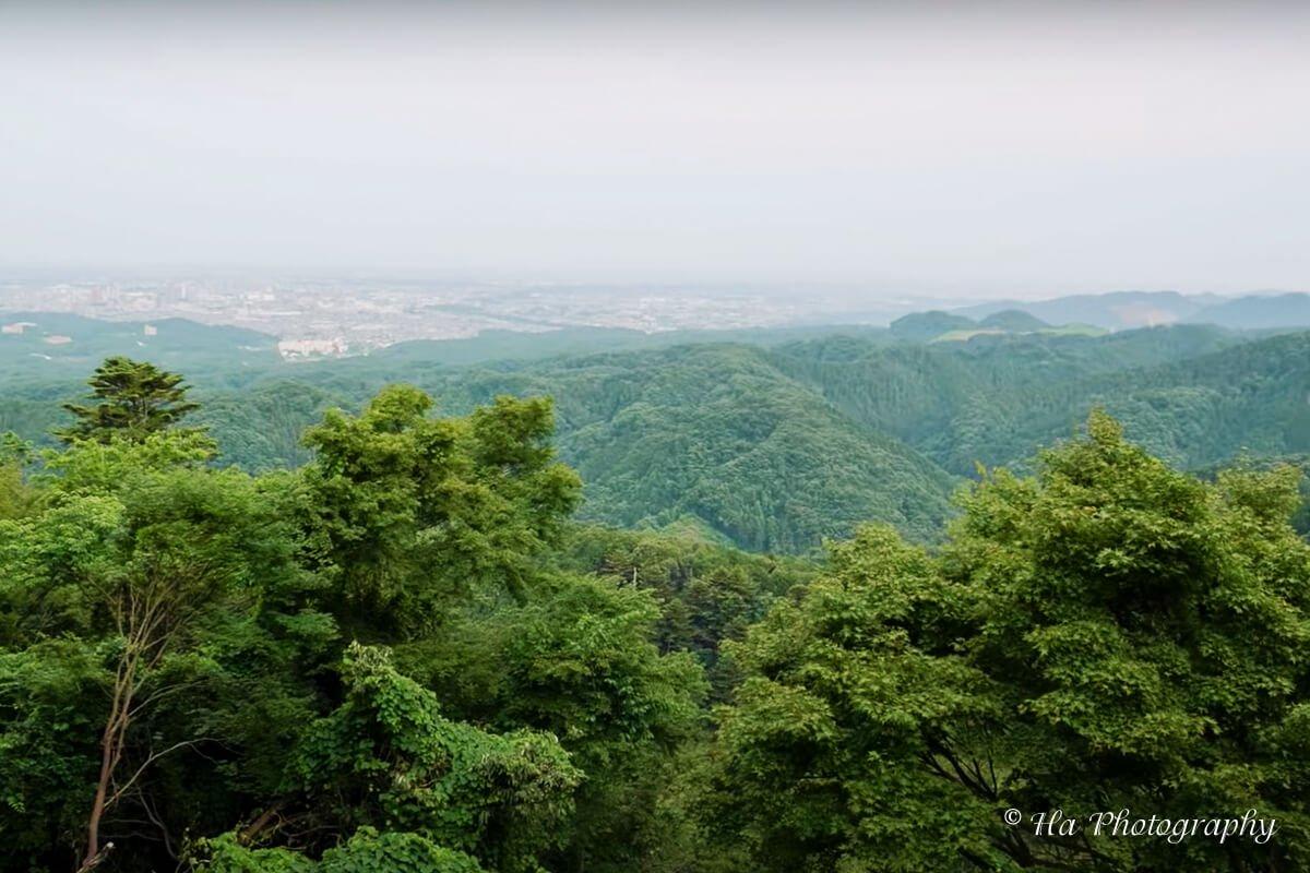 Mount Takao view Japan.