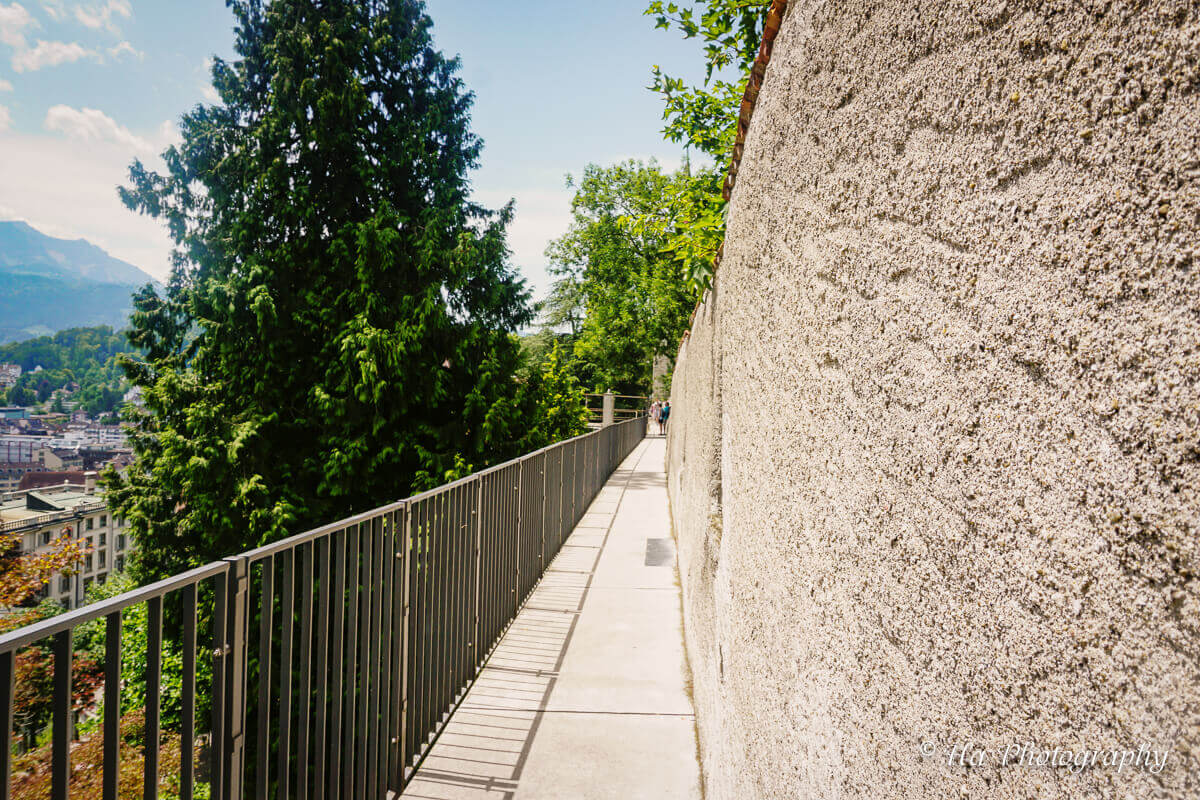 Musegg Wall Lucerne Switzerland.
