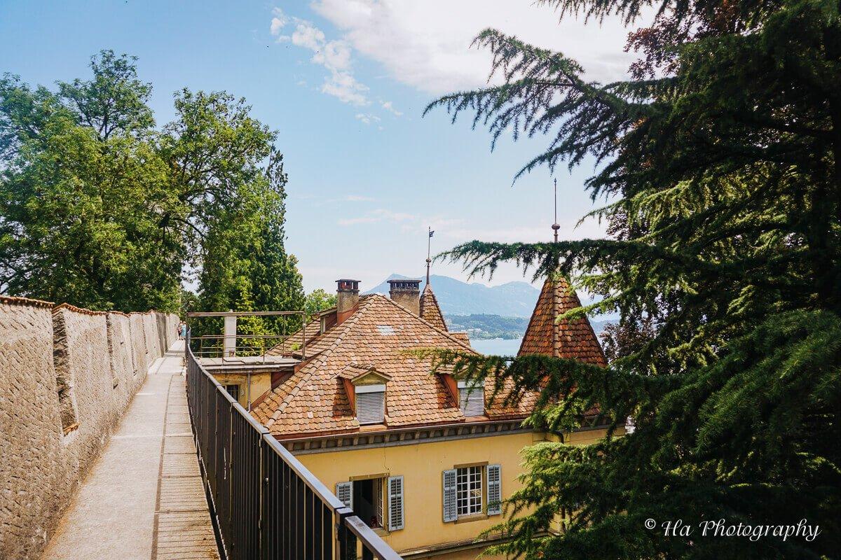 Museggmauer Lucerne Switzerland.