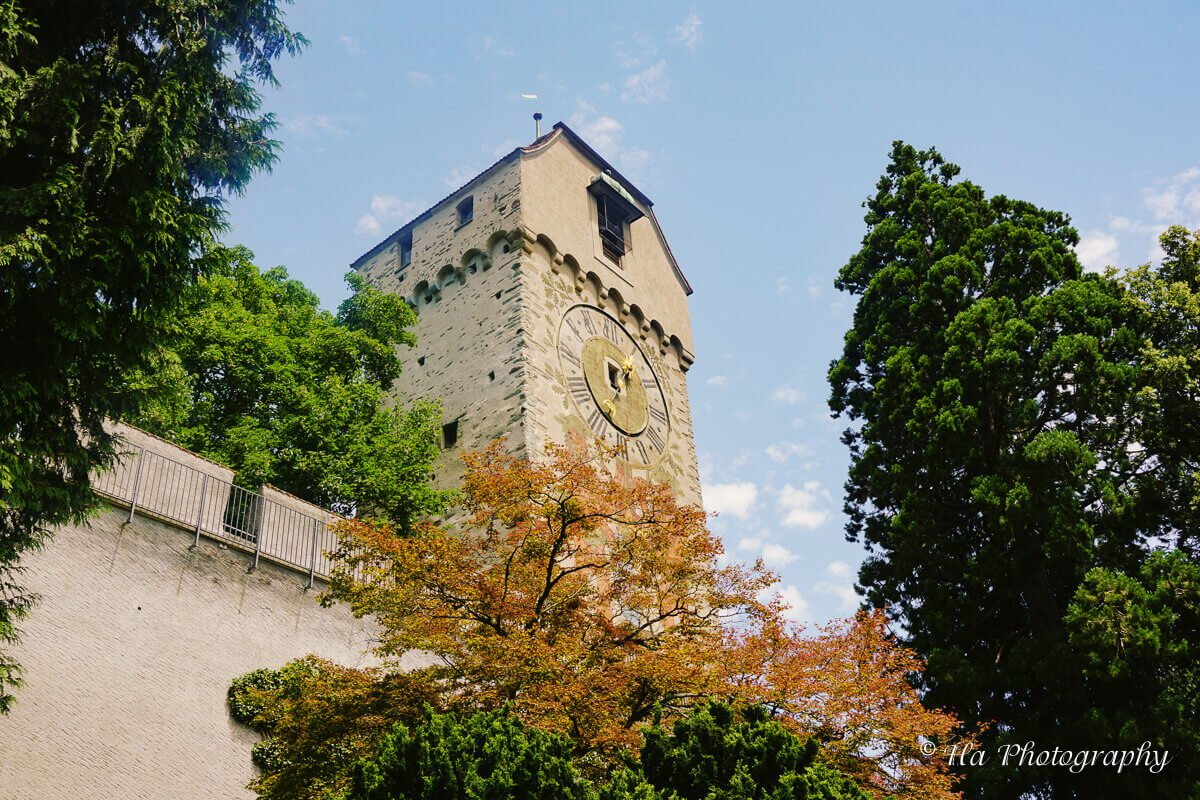 Museggmauer Zyt Tower Lucerne Switzerland.