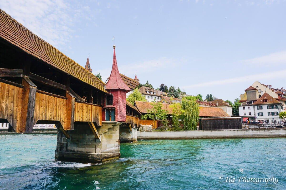 Spreuer Bridge Lucerne Switzerland.