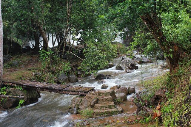 Tam Hop waterfall Vietnam.