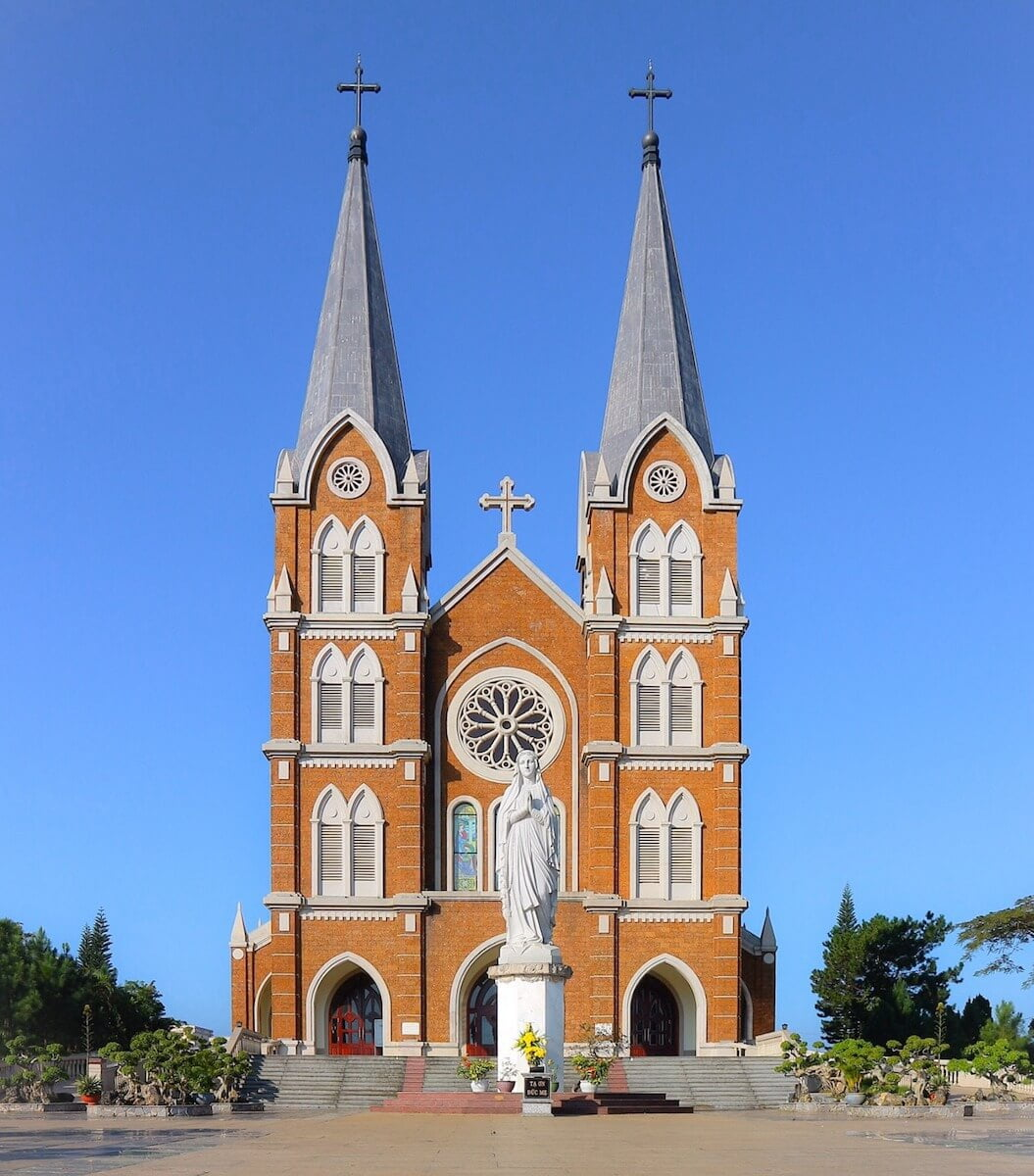 Thanh Mau church Bao Loc Vietnam.