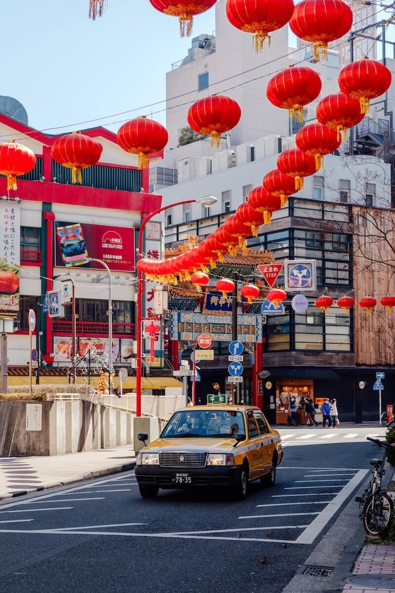 Yokohama Chinatown day trips from Tokyo Japan