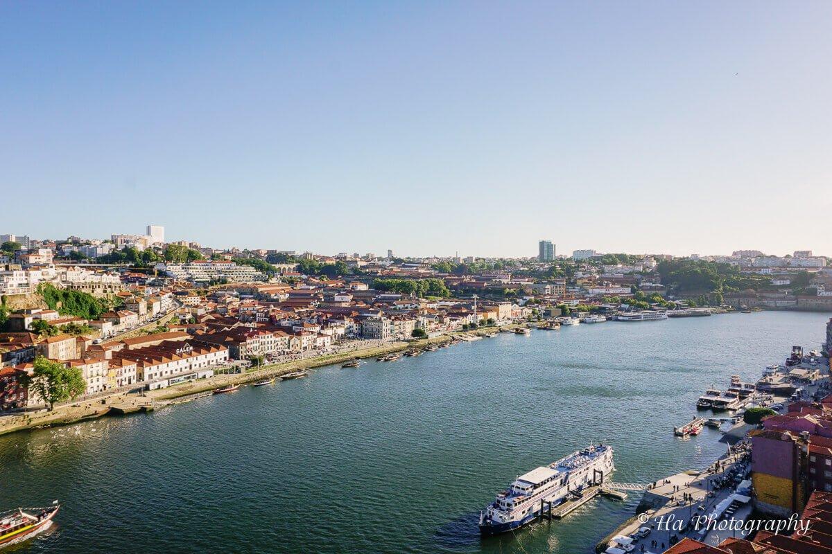 Duoro River Porto Portugal.