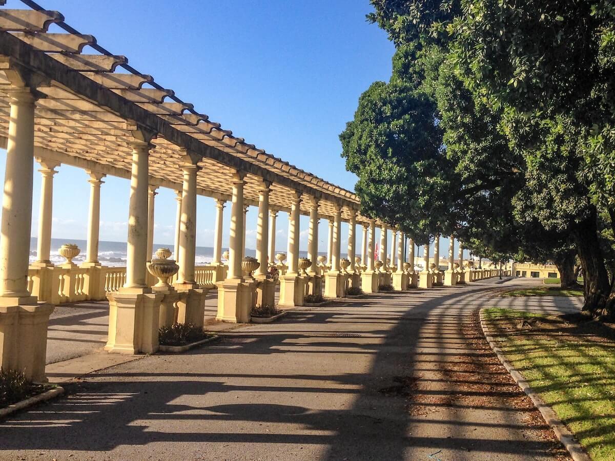 Foz promenade Porto Portugal.