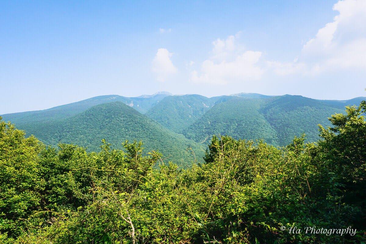 Mount Hallasan Jeju island Korea
