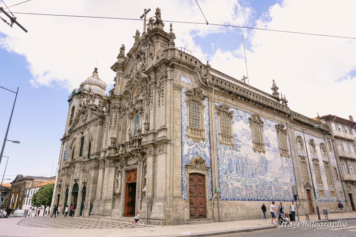 Igreja do Carmo Porto Portugal.