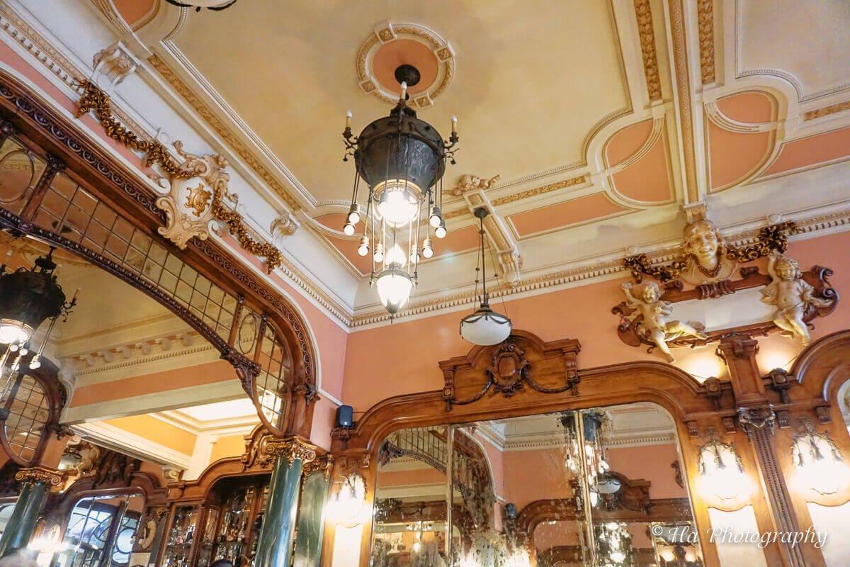 Majestic cafe Porto Portugal.