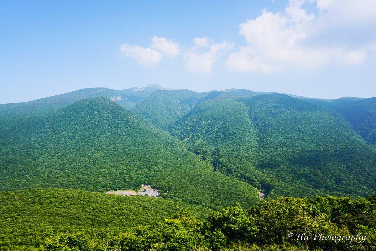 Mount Hallasan Jeju island Korea.