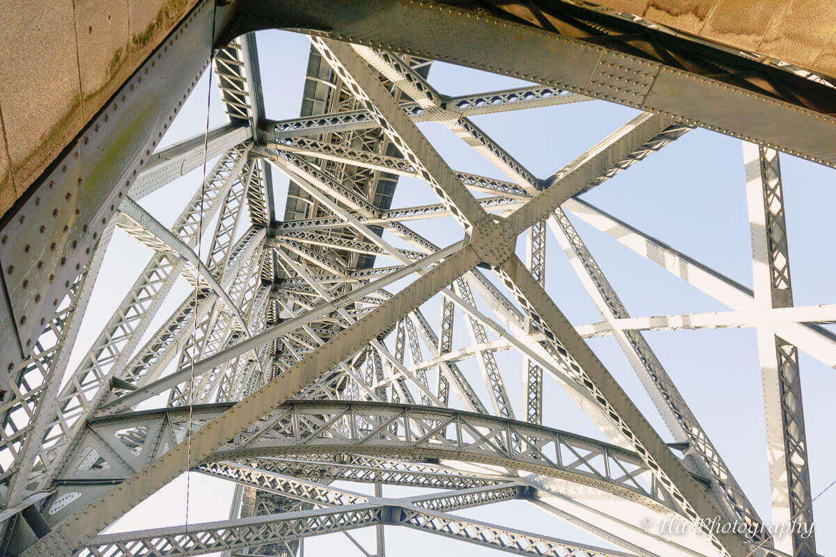 Ponte Luis bridge Porto Portugal