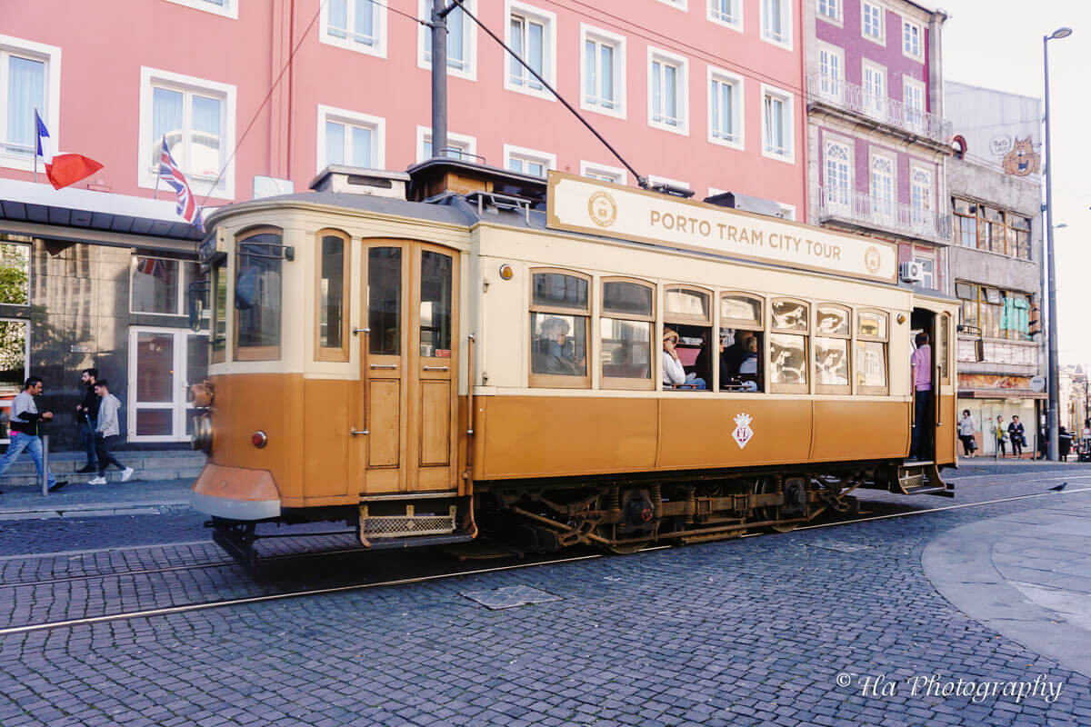 Porto tram.