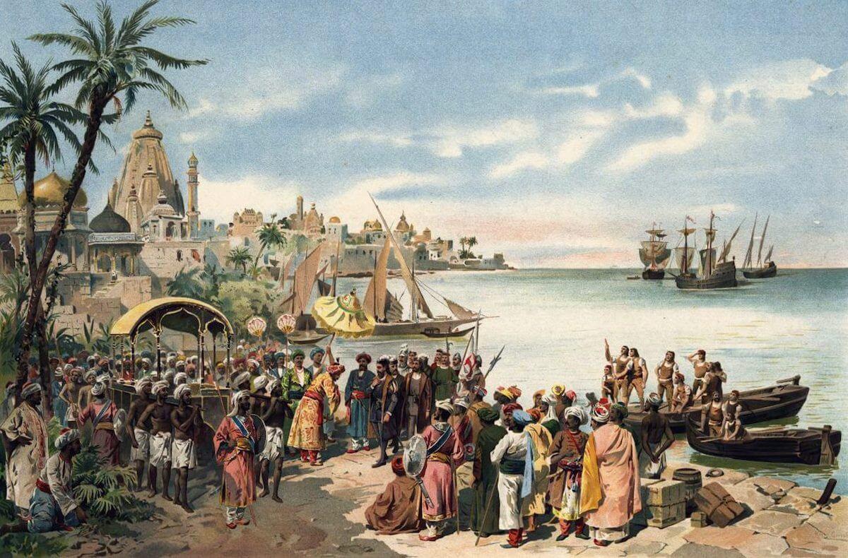 Portuguese voyage.