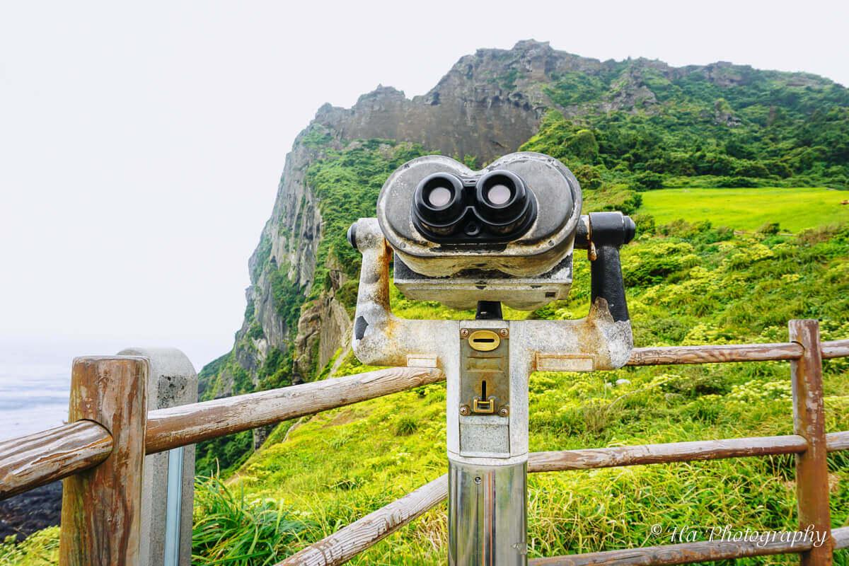 Sunrise Peak Jeju binocular.