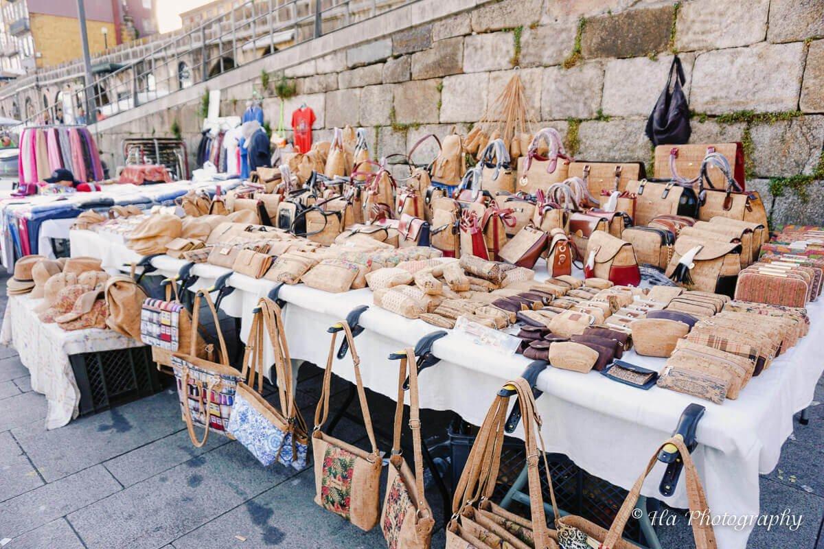 bag street vendor.