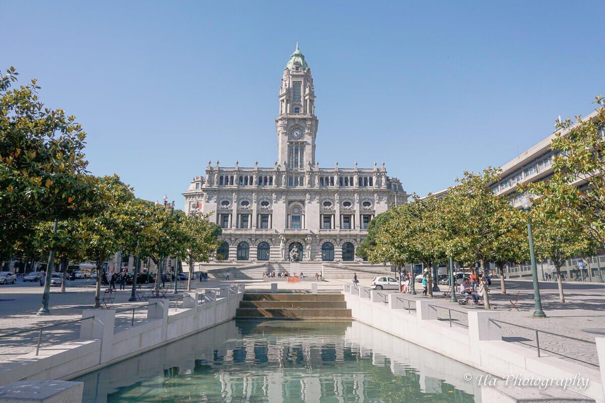 city hall Porto Portugal.