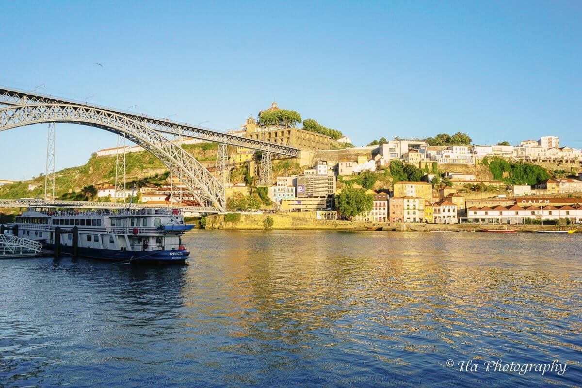 cruise bridge Porto Portugal.
