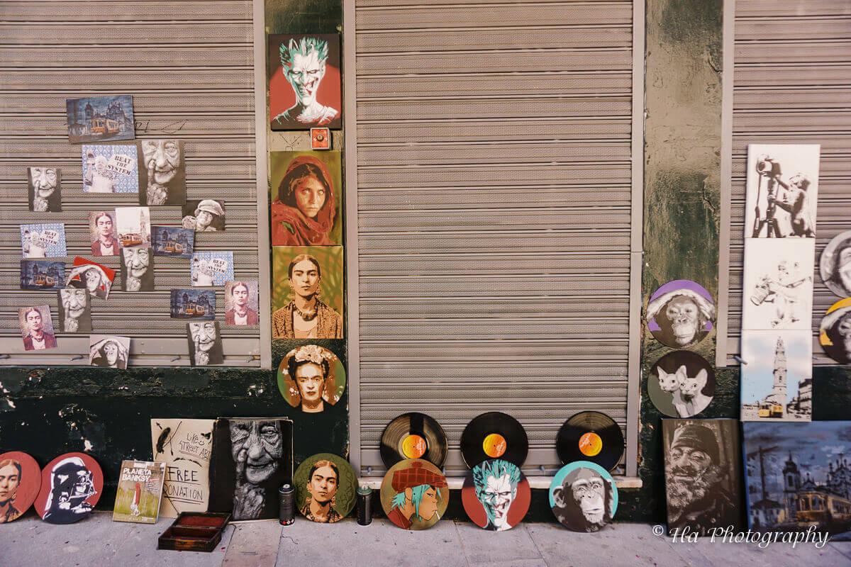 music discs Porto Portugal.