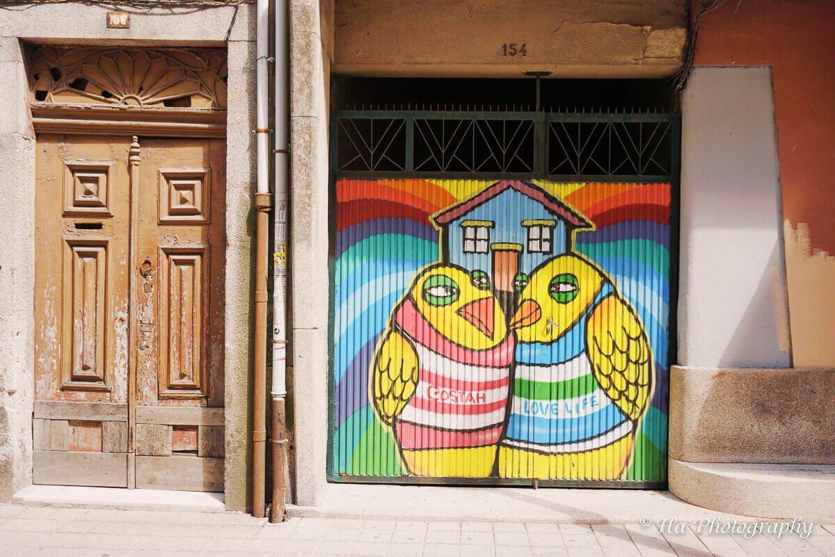 street art Porto Portugal.