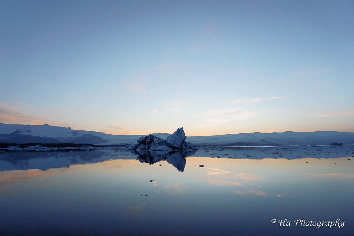 jokulsarlon glacier lagoon iceland.