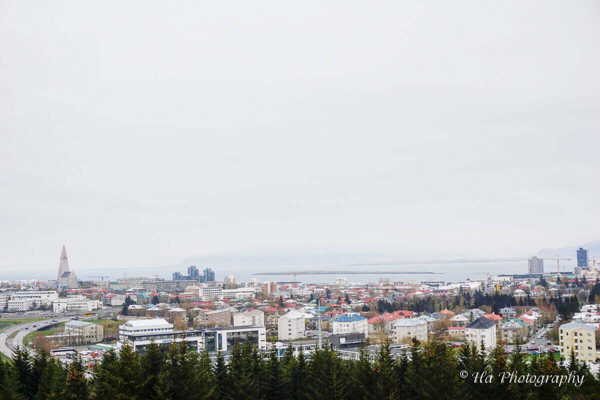 view reykjavik iceland.